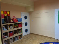 My classroom at Karowa. The playroom.
