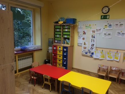 My classroom at Karowa. The table room.